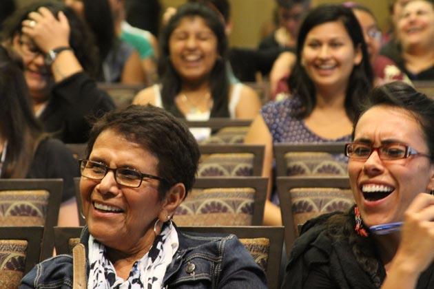 Conference Participants Enjoy Presentation, Ohio Union.