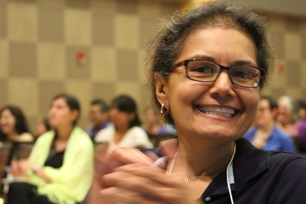 Dr. Lourdes Torres, DePaul University at Plenary Session.