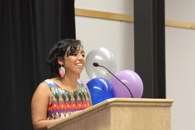 OSU Graduate Student Delia Fernandez.